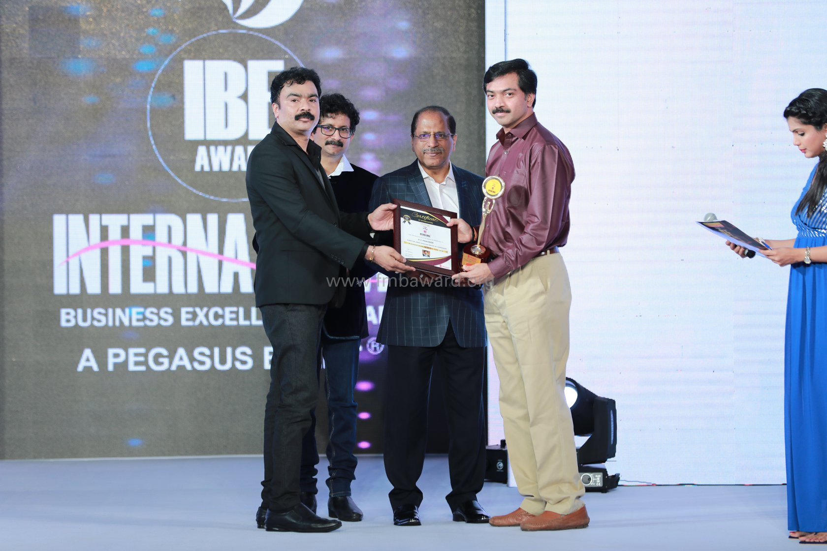 Business Enabler of the year 2018 – Mr.V C Praveen