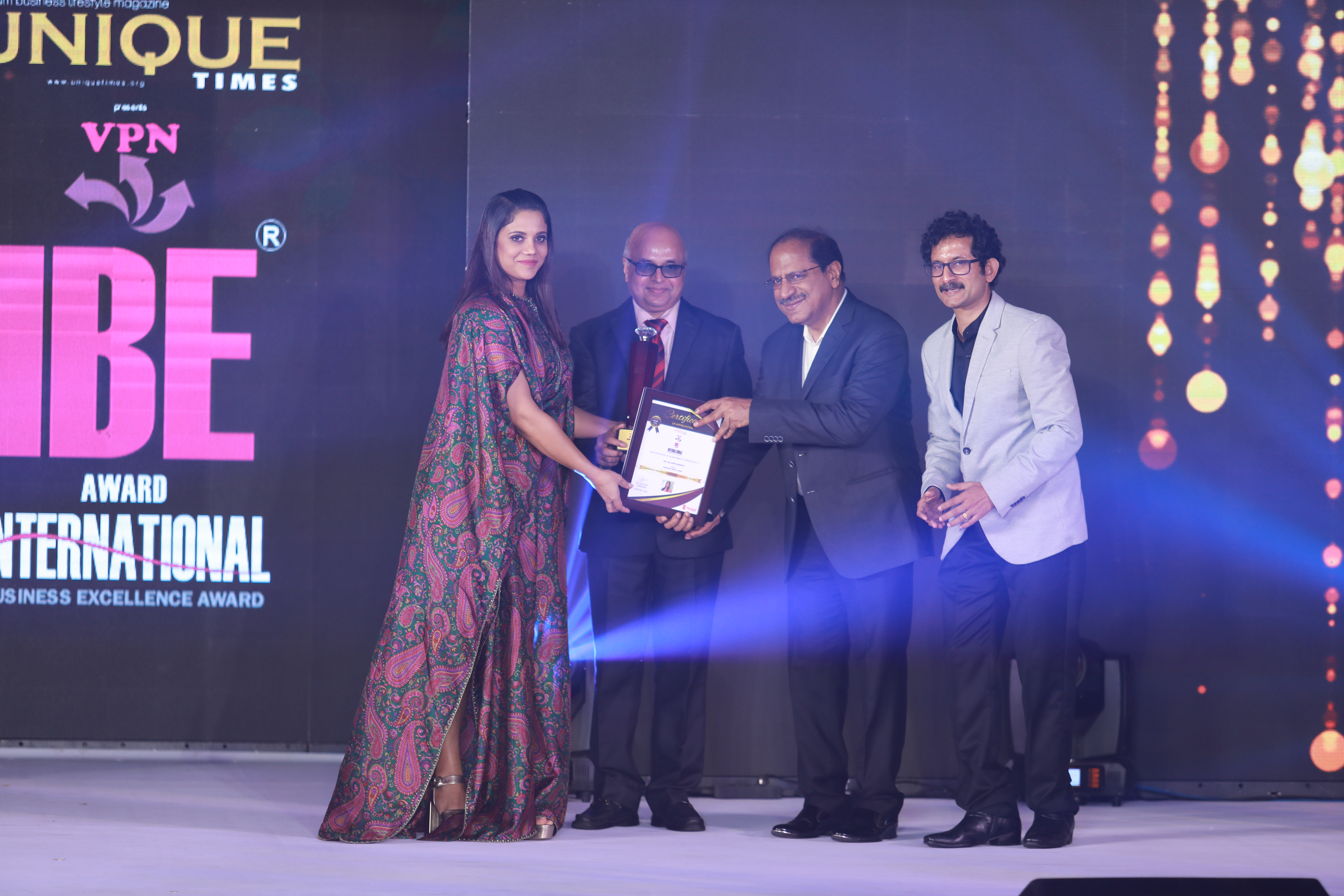 Dr. Nilufer Sheriff – Professional Excellency Award in Health Care
